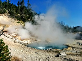 Yellowstone Park, Montana