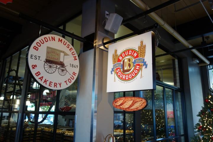 Visit to Boudin Bakery, SanFrancisco